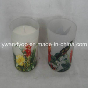 2015 Natural Soy Scented Luxury Gift Candle in Glass