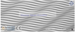 Eco-Friendly 3D Wood Carved Decorative Wall Panel (08WSCSWP15) pictures & photos