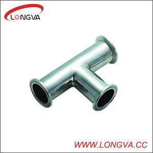 DIN Tri-Clamp Stainless Steel Tee pictures & photos