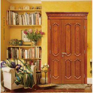 Molded MDF Wood Veneer Door (E2-01)