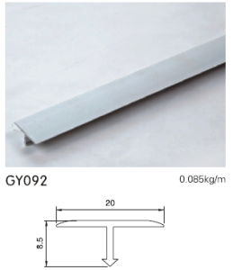 8.5cm Height Aluminium T Shape Trim pictures & photos