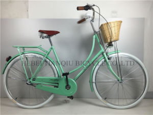 Green Colorful 28 Inch Coaster Brake Dutch Bike pictures & photos