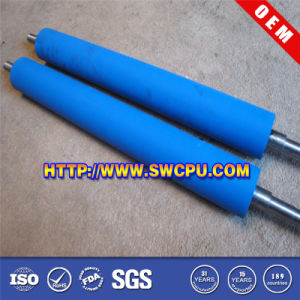 CNC Manufactory Mould Stainless Steel Coated Plastic Roller (SWCPU-P-R497) pictures & photos