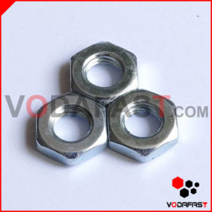 Hex Thin Nuts Zinc Plated pictures & photos