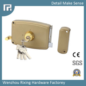 Mechanical Rim Door Lock (1020-120) pictures & photos