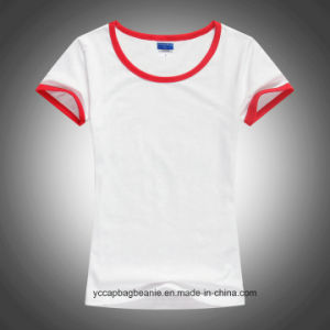 2016 New Women Fitted Blank T-Shirts pictures & photos