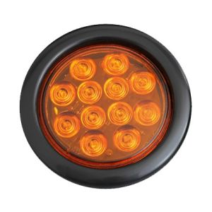 "LED 4"" PVC Rubber Round Truck Light (TK-TL051) pictures & photos"