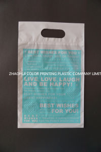 Die Cut Plastic Gift Bag pictures & photos