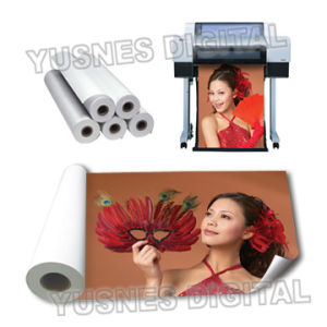 260GSM Satin RC Large Format Inkjet Printing PE Coated Paper pictures & photos