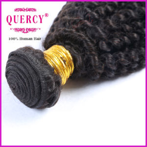 Factory Price Kinky Curl Brazilian Human Hair Weaves for Black Women pictures & photos