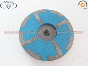 Popular Resin Filled Diamond Cup Wheel for Granite Concrete pictures & photos