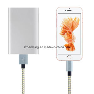 Nylon Braided 8pin Lightning Data Sync Charger USB Cable for iPhone pictures & photos