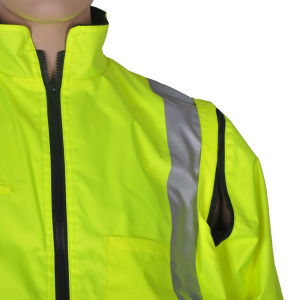 High Visibility Waterproof Insulated Winter Rain Suit pictures & photos