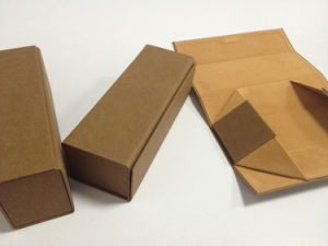 Kraft Paper Reading Glassses Folded Case