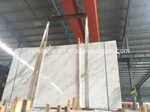 Volakas White Marble Slab for Floor/Wall/Countertop/Mosaic Tiles
