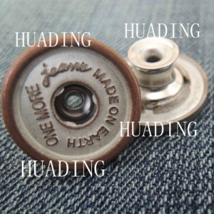High Sales Fashion Beautiful Jeans Metal Shank Button (HD1125-15) pictures & photos
