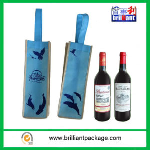 Promotion High Quality of Single Wine Bottle Bags pictures & photos