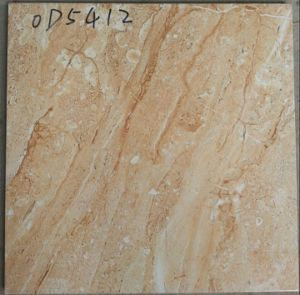 4040 Yellow Stone Glazed Polished Ceramic Flooring Tiles pictures & photos