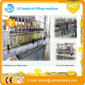 Automatic Linear Type Cooking Oil Filling Production Line pictures & photos
