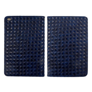 Small Cell Weave Pattern Leather Cases for iPad/iPad Mini