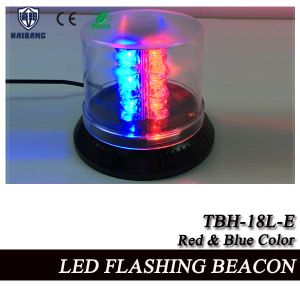 High Power LED Flashing Beacon in Red and Blue SMD LEDs (TBH-18L-E) pictures & photos