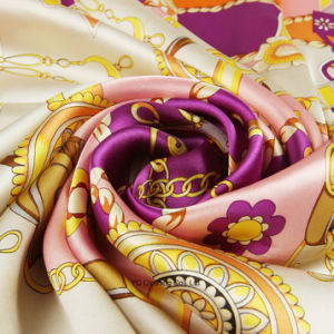 100% Silk Women Fashion Silk Scarf pictures & photos
