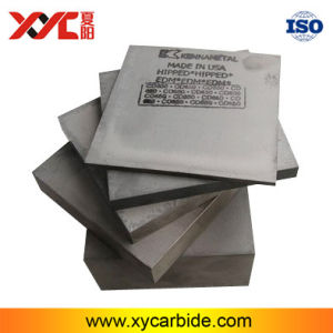 Semifinshed 15% Co Tungsten Steel Kennametal Series CD-650 Blanks From USA pictures & photos