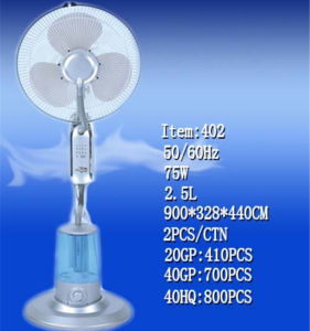 Pedestal Stand Water Mist Fan (TT-402) pictures & photos