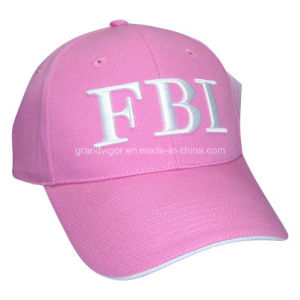Heavy Brushed 100% Cotton Baseball Cap for Women Fbi pictures & photos