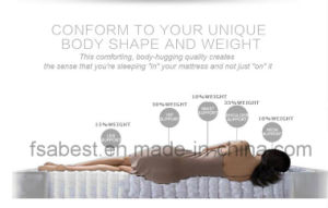 Comfortable Memory Foam and Spring Mattress ABS-2804 pictures & photos