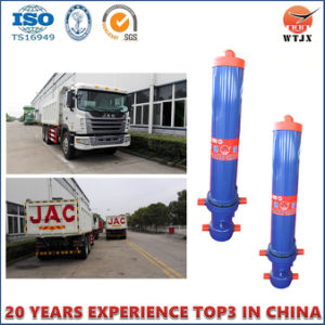Telescopic Hydraulic Cylinder for Small Ton Dump Truck pictures & photos
