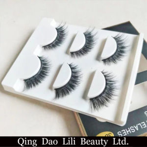 Lili Beauty High Quality Cheap Price Synthetic Hair Strip False Eyelash pictures & photos