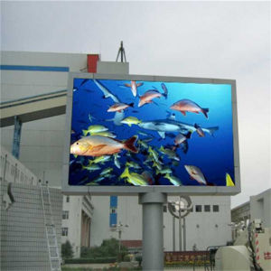 Outdoor Screen High Brightness RGB P10 Waterproof Advertising LED Display pictures & photos
