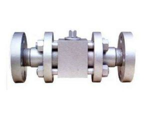 High Pressure Forged Steel Three Section Flanged Ball Valve pictures & photos