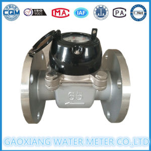 Dn100 Stainless Steel304 Flange Dry Dial Water Meter pictures & photos