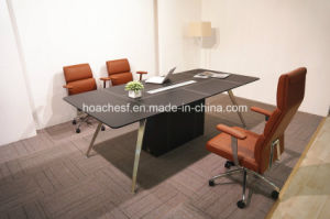 Modern Leather MDF Office Conference Table (E9) pictures & photos