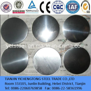 Bright Surface Stainless Steel Circle for Kitchenware pictures & photos