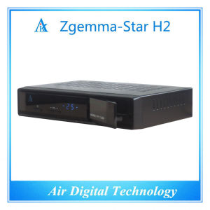 European TV Decoder HD DVB T2 DVB S2 Zgemma-Star H2 pictures & photos
