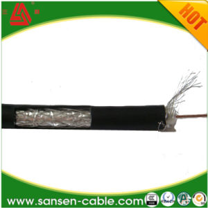 Rg59/RG6 Siamese Rg59/RG6 with Power Cable Rg59/RG6 Coaxial Cable for Camera Link/CCTV Security Cable pictures & photos