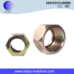 Fitting and Adapter (SAE 080110) Carbon Steel Hex Nut pictures & photos