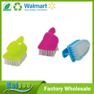 Durable Plastic Cleaning Scrub Brush Shoe Brush with Handle pictures & photos