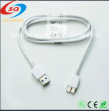Micro USB 3.0 Data Charger Cable for Samsung Galaxy Note 3 S5