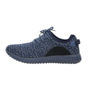 Knit Fabric Upper Cheap Sports Shoes Running Shoes Flynit Vamp pictures & photos