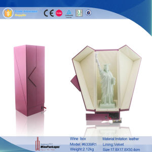 Especial Custom Design LED Light Red Wine Packaging Box pictures & photos