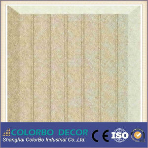 Sound Absorption Polyester Fiber Acoustic Decorative Wall Panels pictures & photos