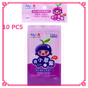 10 PCS Organic Non-Woven Wet Wipes OEM Accepted pictures & photos