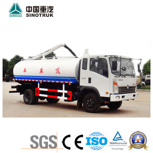 Top Quality HOWO King Fecal Suction Truck (10-12m3)