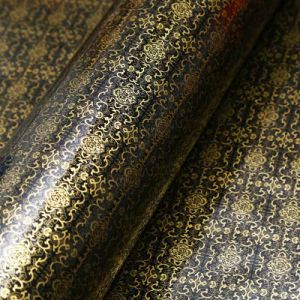 Golden Flower PVC Metal Decorative Film Self-Adhesive Boeing Film pictures & photos