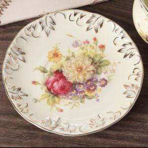 European Design Ceramic Coffee Cup and Saucer Porcelain Espresso Cup pictures & photos