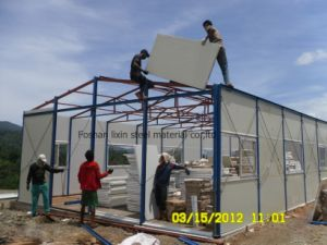 Light Steel Frame Mobile House Home with Polyurethane Panel pictures & photos